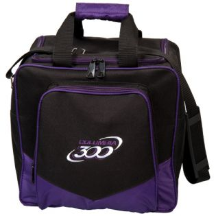 COLUMBIA300 WHITE DOT SINGLE TOTE PURPLE