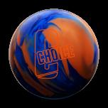 EBONITE CHOICE SOLID - BLUE/DARK BLUE/ORANGE