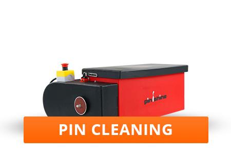 Lane Maintenance Pin Cleaning