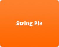 String Pin Machine Parts